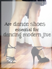 do you need dance shoes