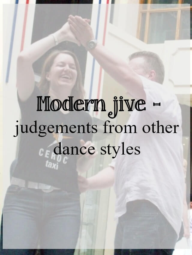 Hairstyles For Modern Dance : Modern jive judged by other dance styles what about