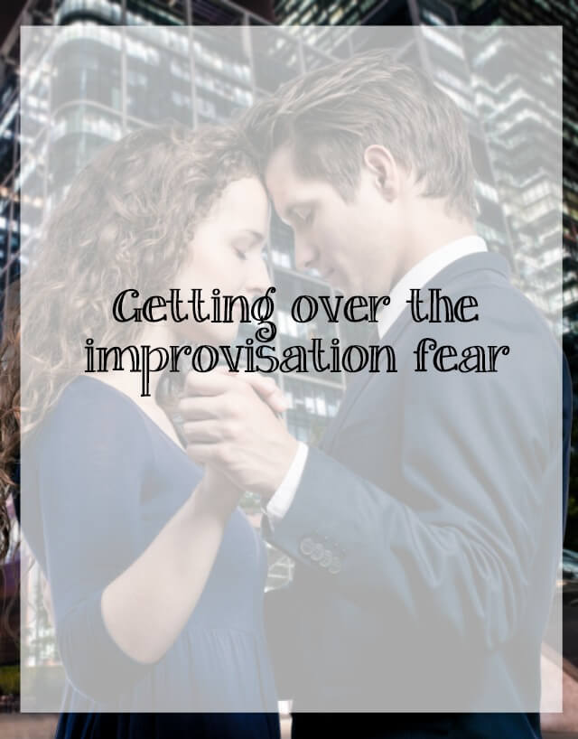 Getting over the dancing improvisation fear - What about dance