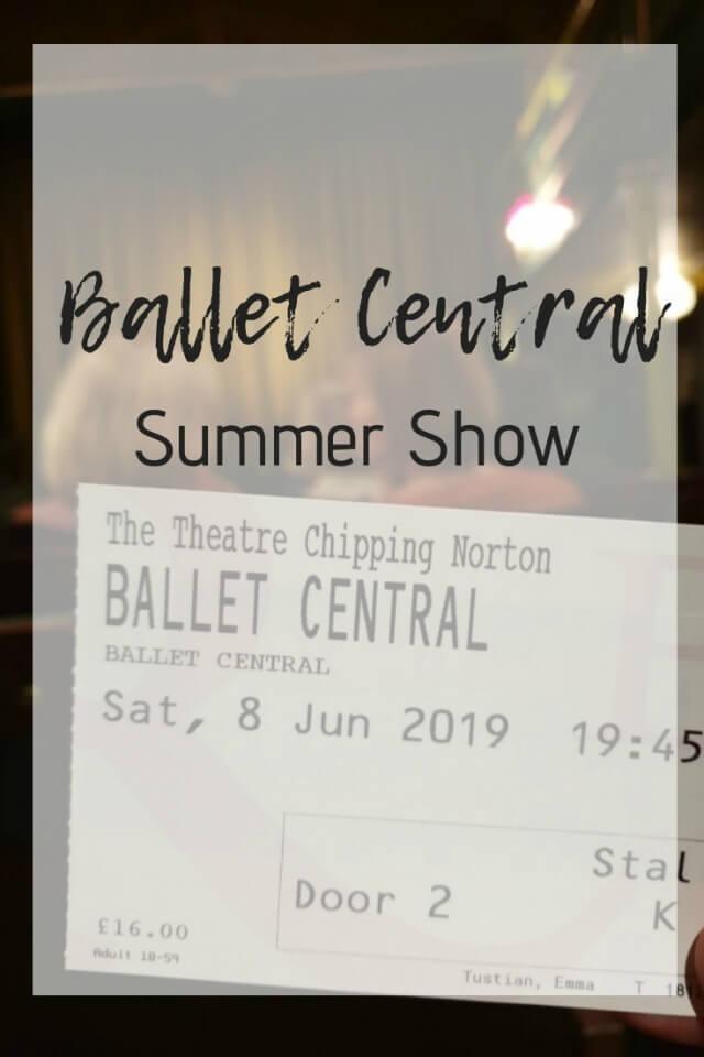 Ballet Central summer showcase